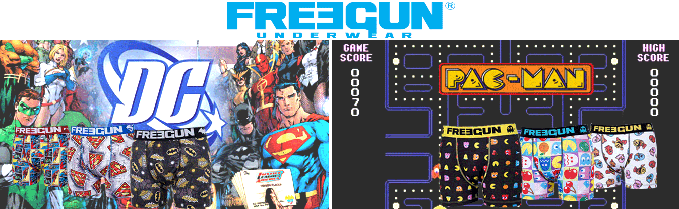 , Cobranding Freegun : Retro gaming et Super Héros !